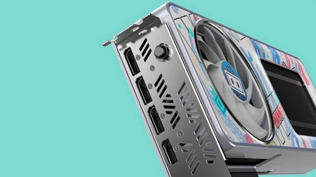 Colorful представила GeForce RTX 3060 в очень необычном исполнении