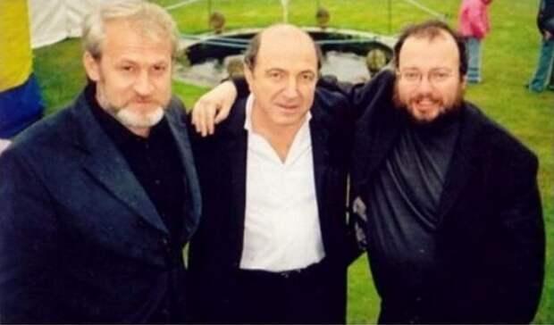 Встреча в Лондоне Ахмед Закаев , Борис Березовский и Станислав Белковский СССР, прошлое, фото
