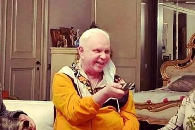 Живущий затворником Борис Моисеев появился на публике