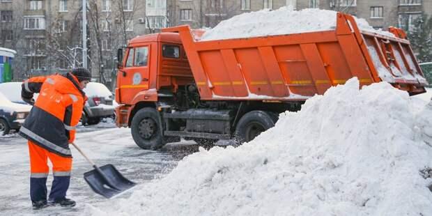 В январе выпало полторы месячные нормы снега
