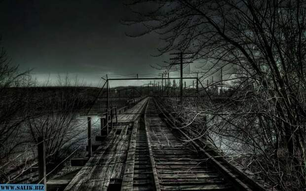 Железная дорога в Сан-Антонио - обиталище духов погибших детей