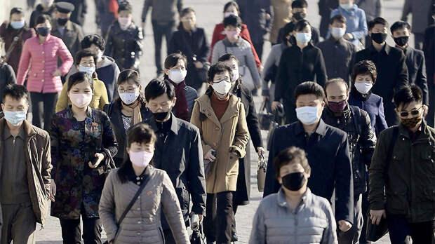 В КНДР предупредили о возможной передаче COVID через листовки РК