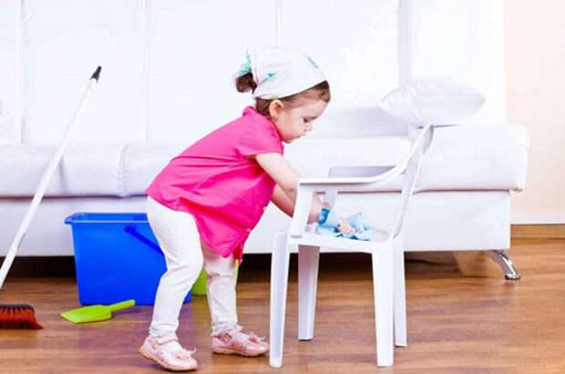 Как приучить ребенка к порядку