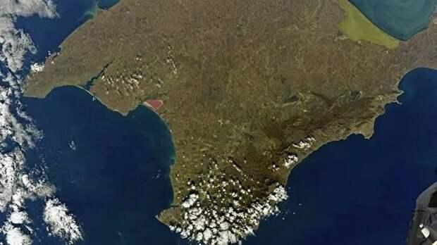 Космонавт Антон Шкаплеров опубликовал снимок Крыма с околоземной орбиты
