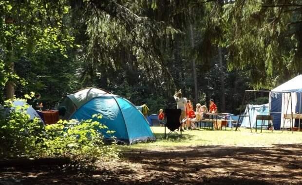 Большой компании — большие палатки