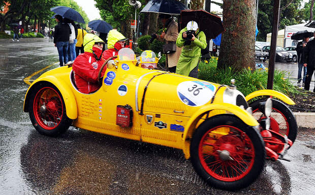 1000 миль гонок по-итальянски: Mille Miglia