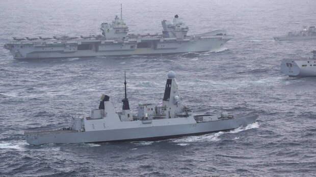 Британский флот отразил учебную атаку самолетов ЧВК