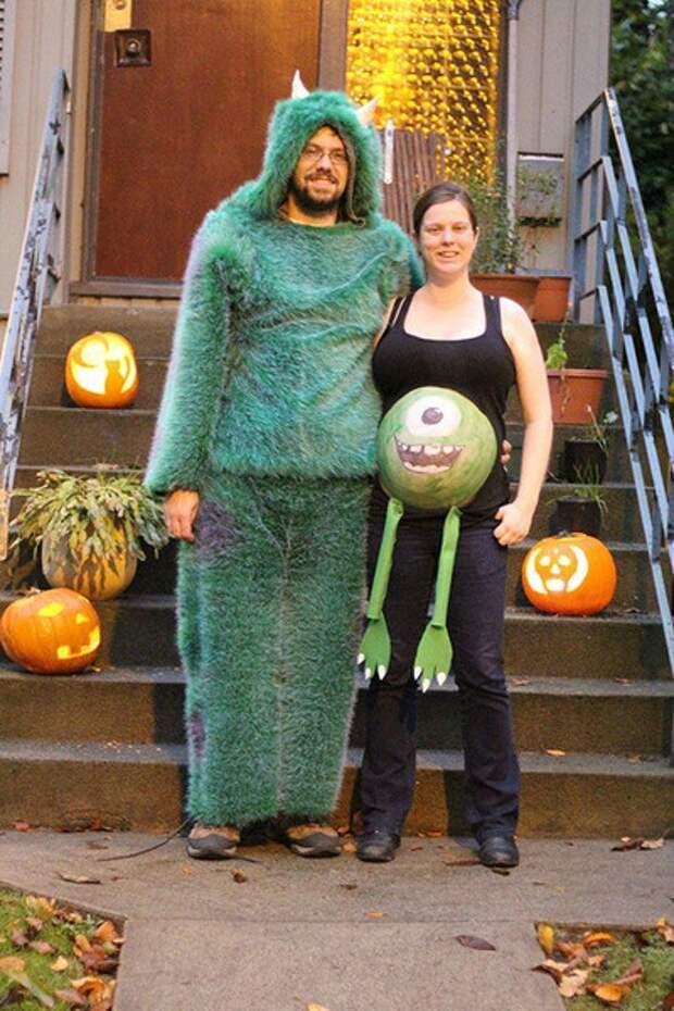 Идеи костюмов на Хэллоуин для будущих мам