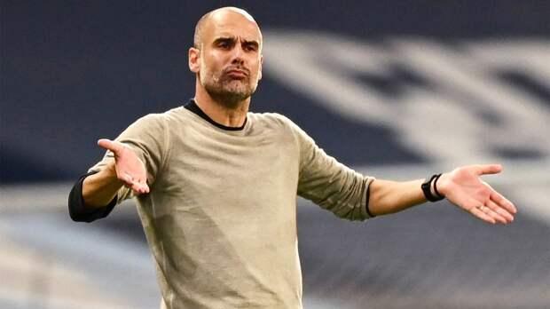 Гвардиола — о матче с «Челтнем Таун»: «Не унывал при счете 0:1, у «Манчестер Сити» с первых минут были моменты»