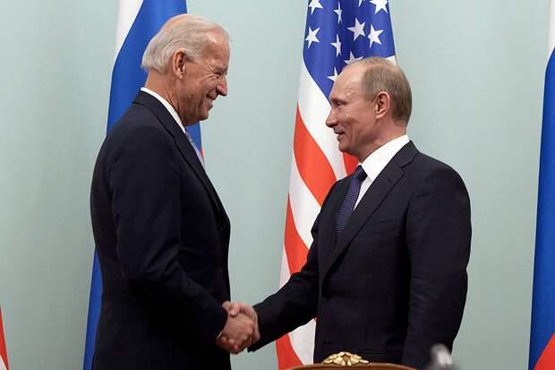Названо возможное место встречи Путина и Байдена