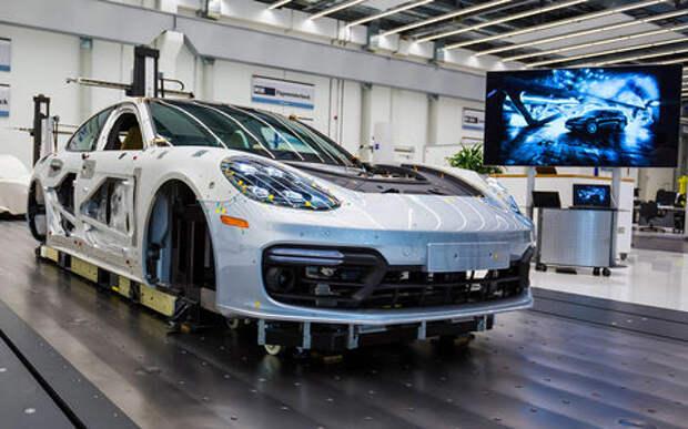 Как собирают автомобили Porsche