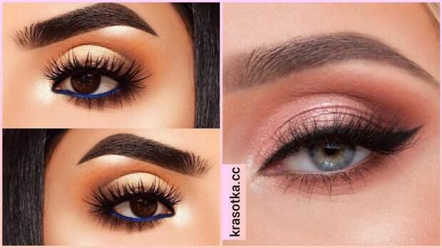 Какая техника макияжа глаз и бровей лучше подойдет разным типам лица