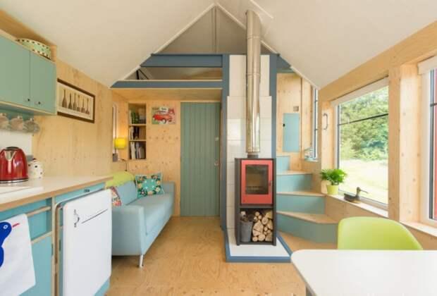 NestHouse - домик площадью всего 29 кв. метров.