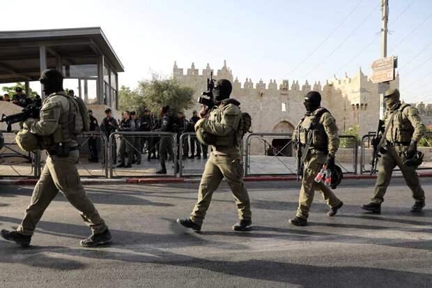 В Иерусалиме взорвался заминированный автомобиль