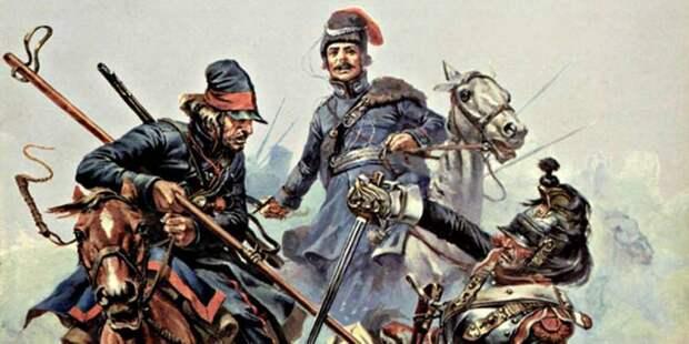 Русские партизаны 1812 года. «Летучие отряды» регулярных войск