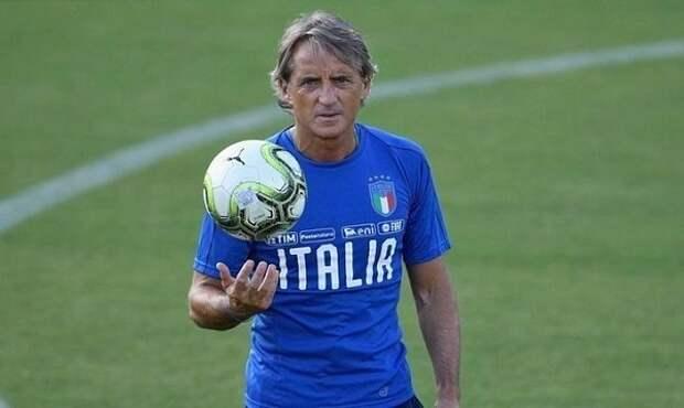 Манчини подписал долгосрочный контракт со сборной Италии