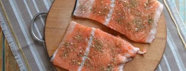хребты лосося запеченные