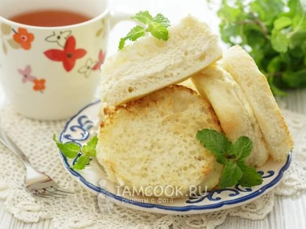 Десерт из хлеба с творогом в духовке — рецепт с фото пошагово