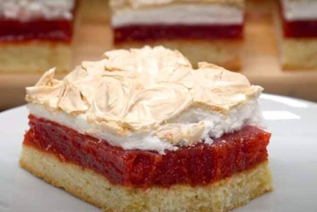 """Потрясающее пирожное """"Три слоя"""""""