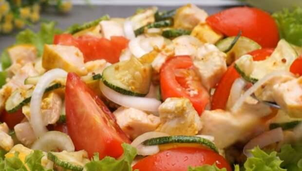 Удивительный летний салат «Море вкуса»