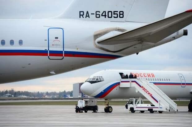 Путин поздравил с 65-летием Специальный летный отряд «Россия»