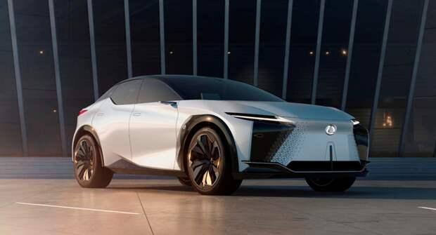 Художники представили полностью переосмысленный интерьер Lexus LF-Z