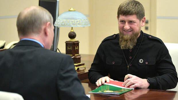 """Кадыров заявил, что он """"проект Путина"""""""
