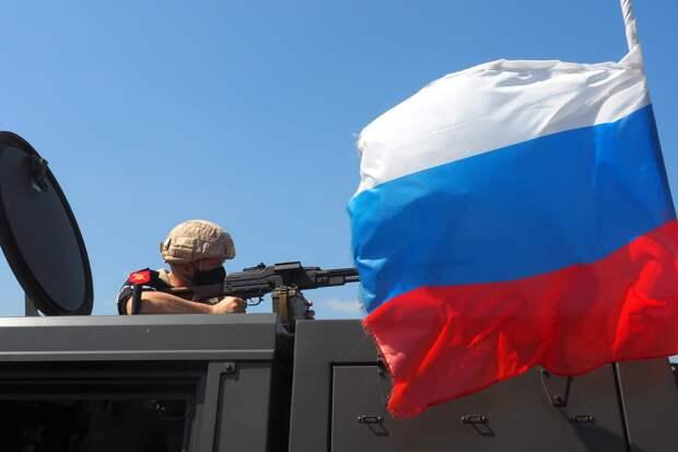 Российские военные вынудили развернуться колонну бронемашин армии США