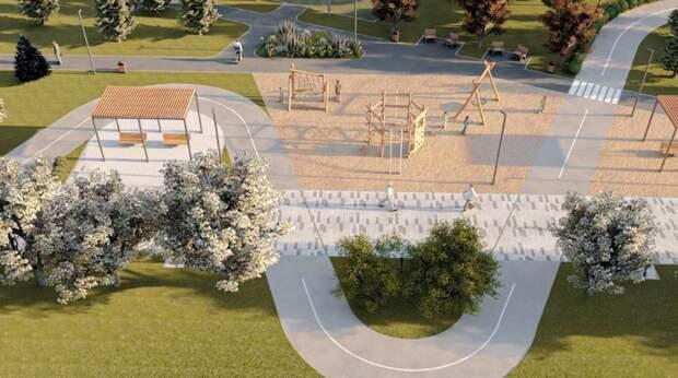 В 2022 году в микрорайоне «Яблони» появится новый сквер