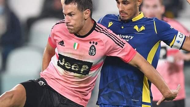 «Ювентус» потерял очки в матче с «Вероной», сыграв вничью 3-й раз на старте Серии А