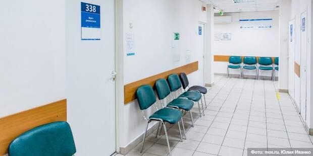 Собянин осмотрел итоги реконструкции детской поликлиники в Лианозове / Фото: Ю.Иванко, mos.ru