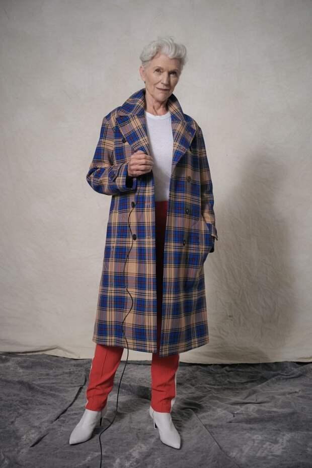 Уроки стиля от 73- летней Мэй Маск