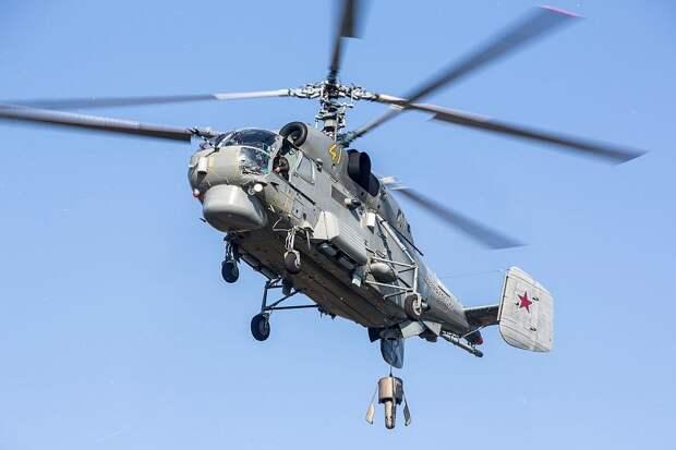 Боевые стрельбы вертолетчиков Балтийского флота показали на видео