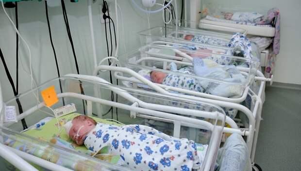 Рождаемость в Подмосковье может вырасти на 9% за полугодие