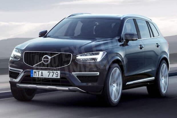 Новый Volvo XC60: первое изображение