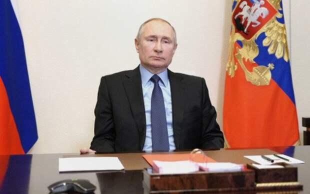 Путин объяснил, почему не стал прививаться публично
