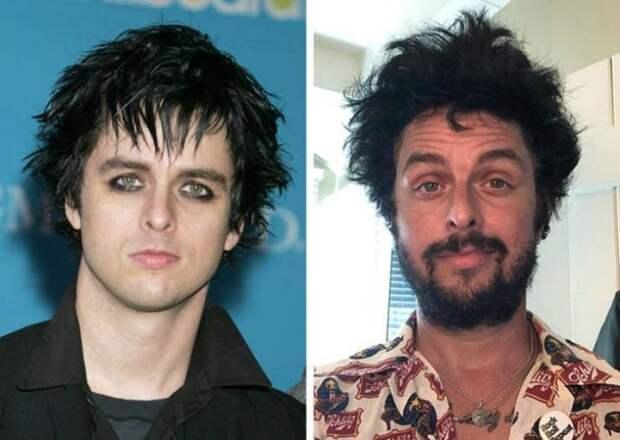 13 фото из серии «было-стало»: как изменились западные рок-звезды