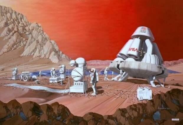 Удивительные тайны Марса
