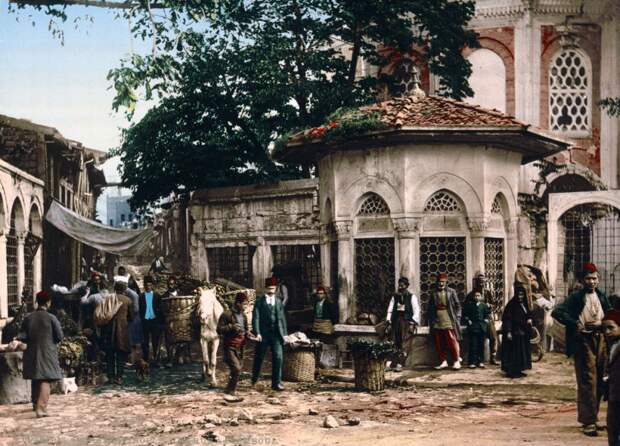 12 цветных фото Cтамбула, когда он еще был Константинополем