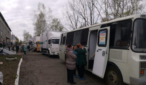 Услугами автопоезда «Здоровье» воспользовались 300 жителей Бикинского района