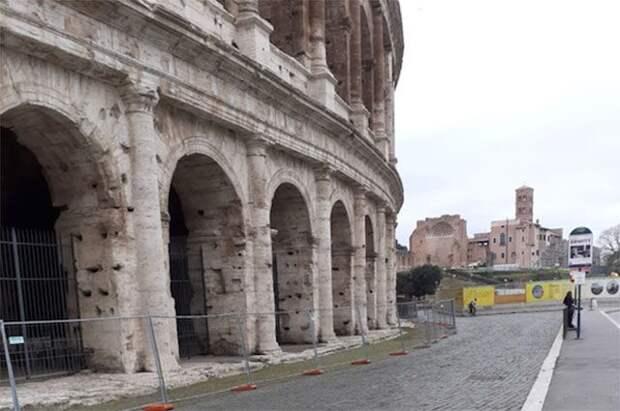 Авиарейсы в Рим возобновятся с 12 июня