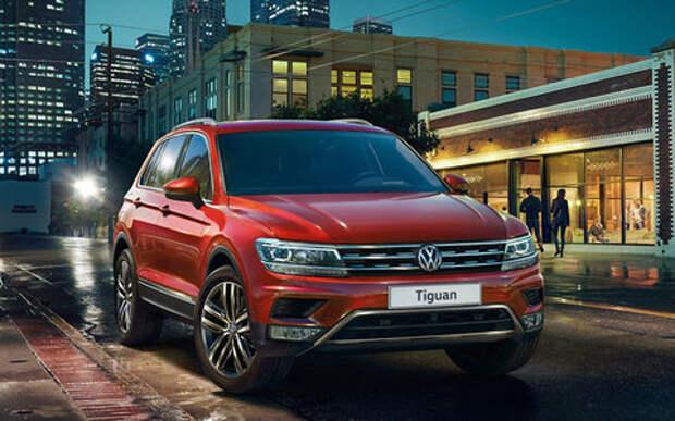 Volkswagen отзывает 4320 кроссоверов из-за коротких замыканий