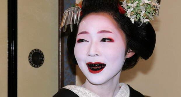 Чернозубая улыбка. Про женскую красоту в Московии