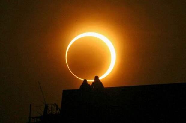 Самое загадочное затмение солнца