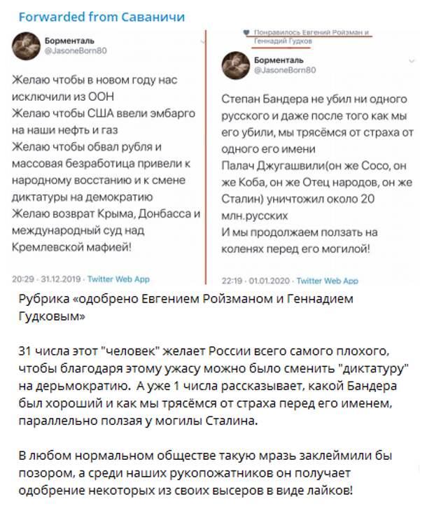 Массовой безработицы вам! - Ройзман и Гудков поздравили россиян с Новым годом