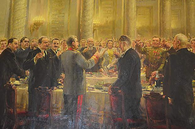 Застолье государственной важности: что ели и как шутили на приёмах в Кремле?