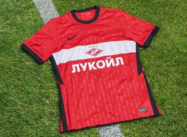 «Спартак» показал новую форму с черными элементами в честь чемпионского сезона: фото