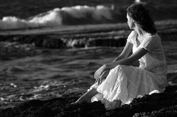 Вы одиноки, потому что дуры девушка, женщина, одинока