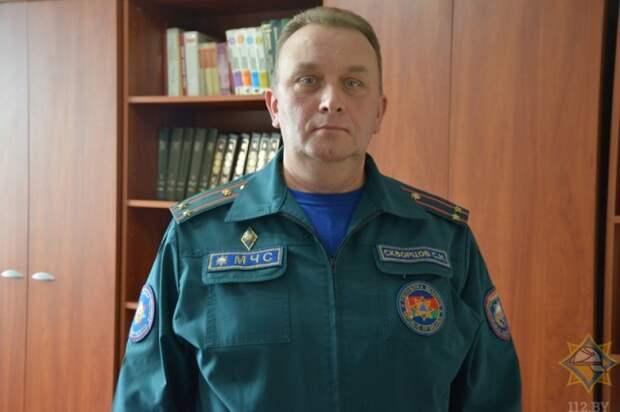 Кадровые назначения в Могилевском областном управлении МЧС.