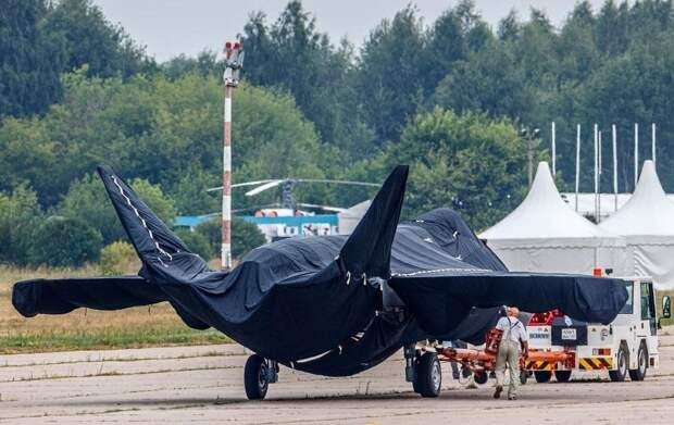 Первые фото новейшего российского однодвигательного истребителя 5 поколения!
